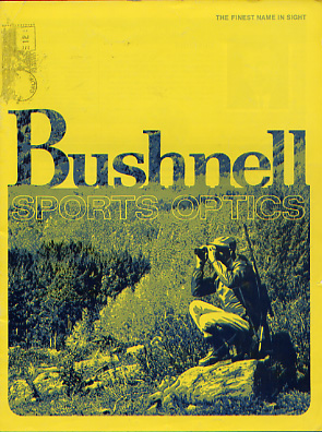 1971 Bushnell Sports Optics Catalog