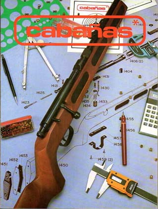 1985 Cabanas Rifles Catalog
