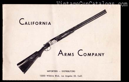 1950's California Arms Company Catalog