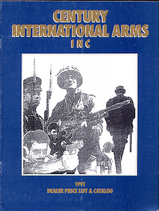 1991 Century International Arms Inc.Catalog