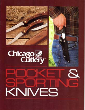 1984 Chicago Cutlery Sporting Knives Catalog