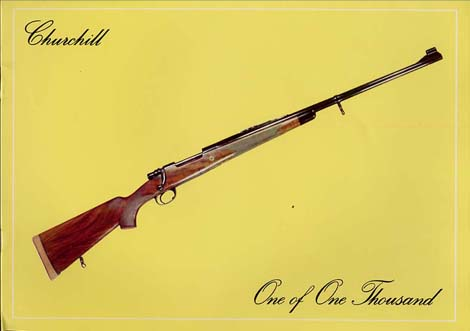 "1975 Churchill "" One Of One Thousand Rifle"" Catalog"