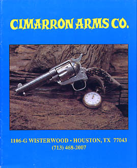 1993 Cimarron Arms Co. Catalog