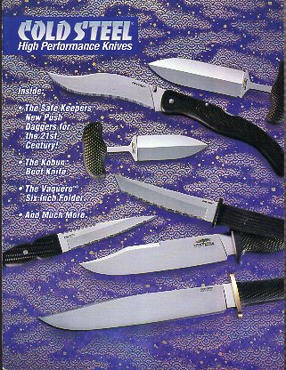 1996 Cold Steel Catalog