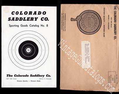 1950s Colorado Saddlery Sporting Goods Catalog