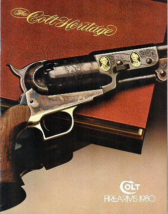 1980 Colt Firearms Catalog