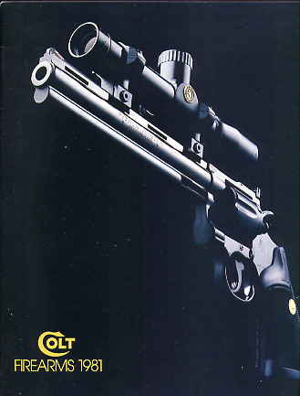 1981 Colt Firearms Catalog