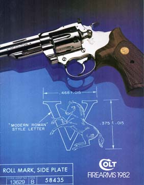 1982 Colt Firearms Catalog w/prices