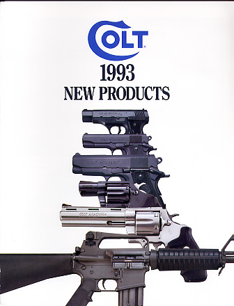 1993 Colt New Products Catalog