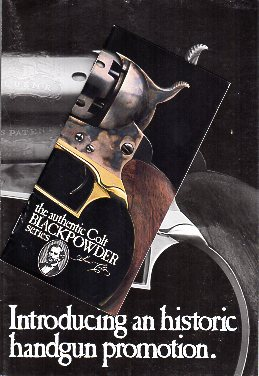 1978 Colt Blackpowder Catalog