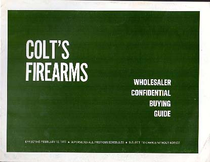 1972 Colt Buying Guide