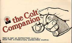 Colt Companion Booklet