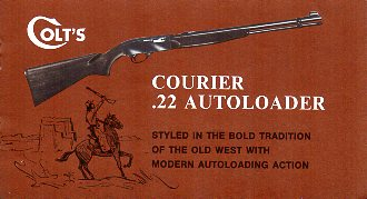 Colt Courier Instruction Manual