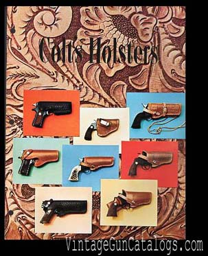 1970 Colt's Holsters Catalog