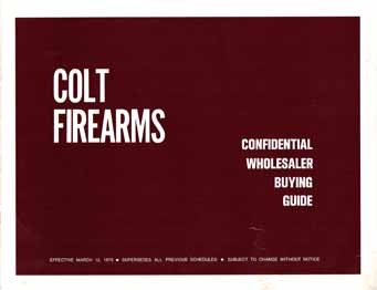 1973 Colt Buying Guide