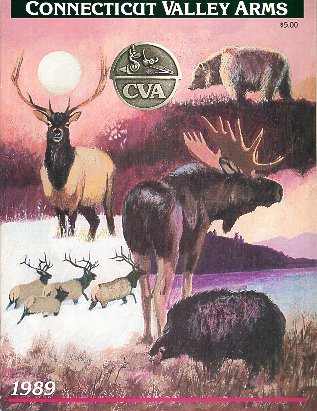 1989 Connecticut Valley Arms Catalog