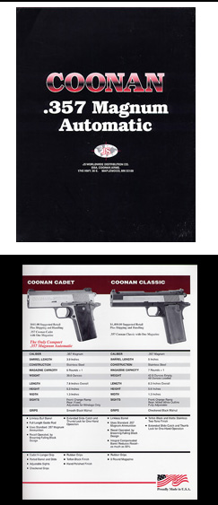 1995 Coonan Arms Catalog
