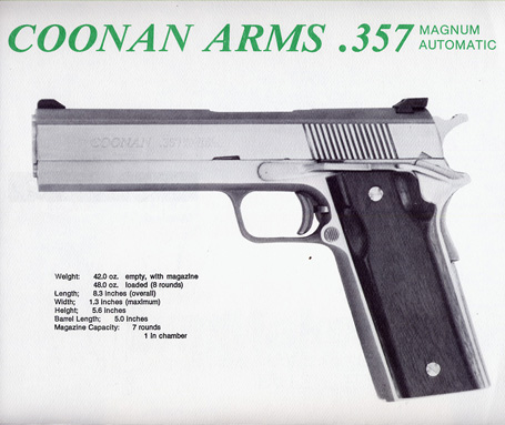 1980's Coonan Arms Brochure/Folder