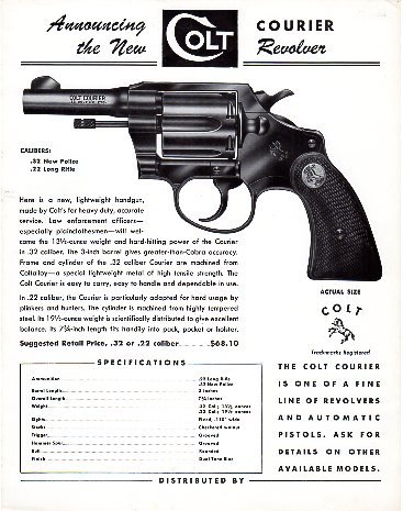 1953 Colt Courier Broadsheet