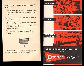 1956 Model 160 Series Rifle Instructions +