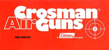 1981 Crosman Catalog