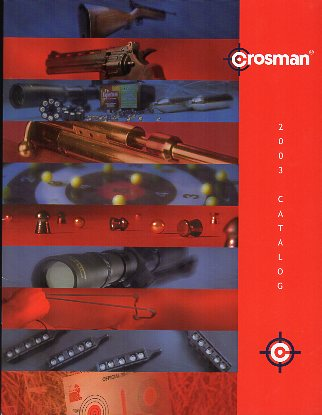 2003 Crosman Dealer Catalog