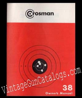 Crosman 38 Revolver Manual
