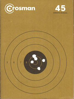 Crosman 45 Pistol Manual