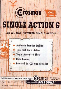 Crosman Single Action 6 Instructions