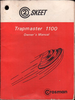 Crosman Trapmaster 1100 Manual