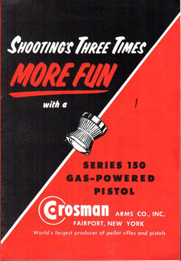 Crosman Series 150 Pistol Manual