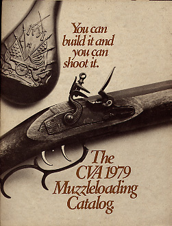 1979 CVA Muzzleloading Catalog, Vintage Gun Catalogs