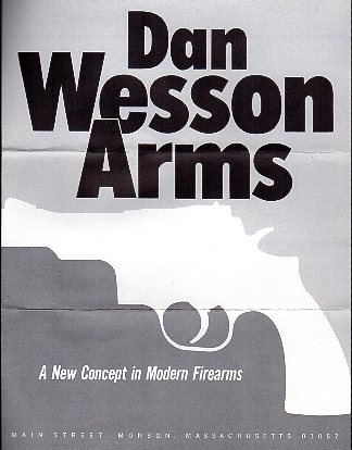1972 Dan Wesson Catalog