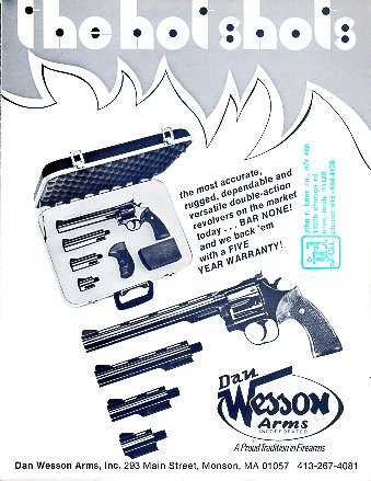 1975 Dan Wesson Catalog