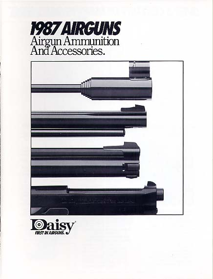 1987 Daisy Airguns Catalog