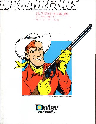 1988 Daisy Airgun Catalog