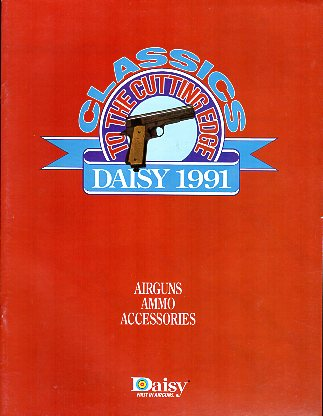1991 Daisy Dealer Catalog