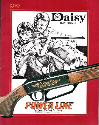 1979 Daisy BB Guns Catalog