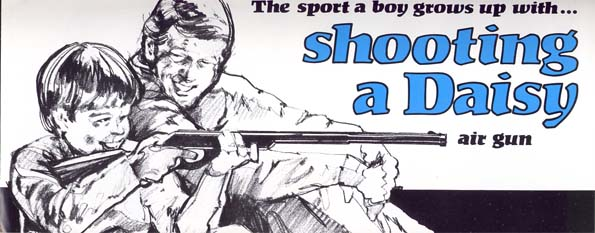 1970's Daisy Boy's Guns Catalog/Brochure