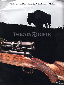 "1987 Dakota Arms ""76 Rifle"" Catalog"