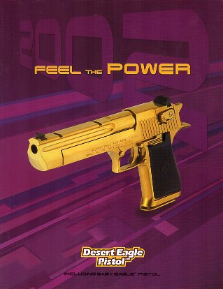 2002 Desert Eagle Pistol Catalog