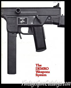 "1982 ""Demro Weapons Systems Catalog"