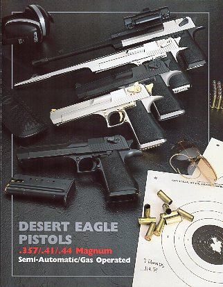 1990 Magnum Research/Desert Eagle Catalog