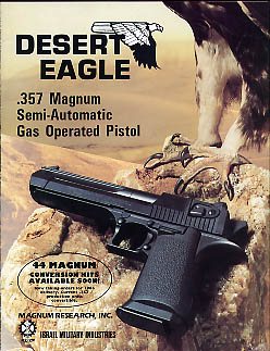 1985 Desert Eagle Catalog