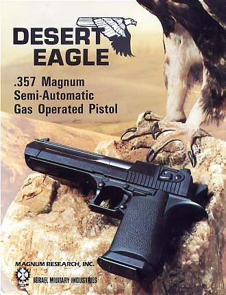 1984-85 Desert Eagle Catalog