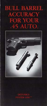 1985 Detonics Bull Barrel Brochure