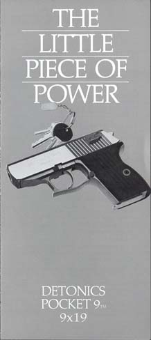 1985 Detonics Pocket 9 Brochure
