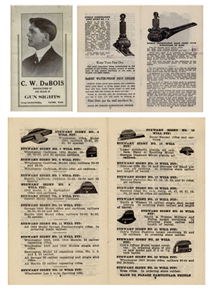 "1920 ""C.W. DuBois"" Gun Sights Catalog"