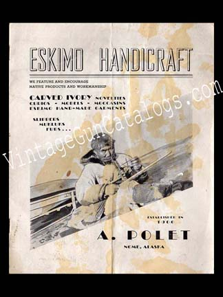 1950 A.Polet Eskimo Handicraft Catalog