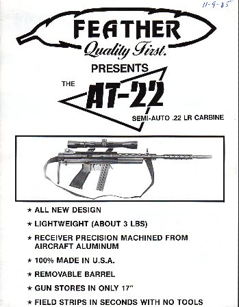 1985 Feather AT-22 Catalog